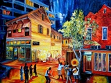 Frenchmen Street Funk Prints by Diane Millsap