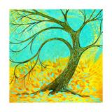 Breezy Tree Posters par Herb Dickinson
