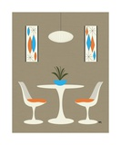 Knoll Table Photographic Print by Donna Mibus