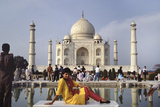 Taj Mahal Model Photographic Print by Charles Bowman