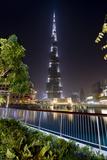 Burj Khalifa Photographic Print by Charles Bowman