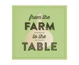 From The Farm To The Table Series Fotodruck von Dallas Drotz