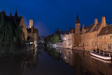 Bruges Photographic Print by Charles Bowman
