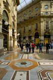 Galleria Vittorio Emanuele II Milan Photographic Print by Charles Bowman