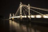 Albert Bridge Photographic Print by Charles Bowman
