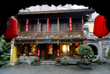 Chongqing Temple Photographic Print by Charles Bowman