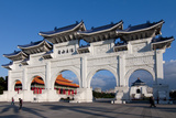Taipei Chiang Kai Shek Memorial Hall Arch Photographic Print by Charles Bowman
