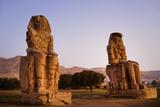 Colossi Of Memnon In Egypt Photographic Print by Charles Bowman