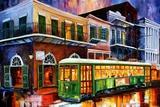 The Old Desire Streetcar Art by Diane Millsap