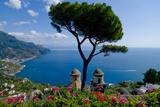 Ravello Villa Rufolo Amalfi Coast Photographic Print by Charles Bowman