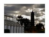 Kew Pagoda Sky Photographic Print by Charles Bowman