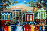 Big Easy Neighborhood Photographic Print by Diane Millsap