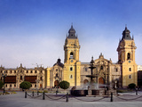 Lima Cathedral Photographic Print by Charles Bowman