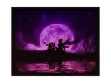 Stargazer Fairies Poster by Julie Fain