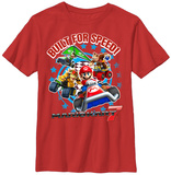 Youth: Mariokart- Built For Speed T-shirts