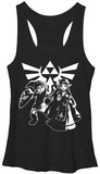 Juniors Tank Top: Legend Of Zelda- Heroes Of Hyrule Womens Tank Tops