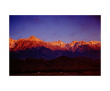 Mount Whitney sunrise Photographic Print by Ronald A Dahlquist