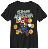 Youth: Super Mario- Game Master T-shirts