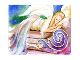 Sleeping Angel in Heaven Photographic Print by sylvia pimental