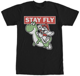 Super Mario- Stay Fly T-shirts
