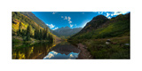 Maroon Bells Colorado Photographic Print by Steve Gadomski