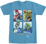Mario Brothers- Box Karts T-Shirt
