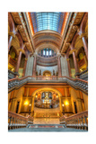 Grand Staircase Illinois State Capitol Photographic Print by Steve Gadomski