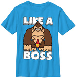 Youth: Donkey Kong- Like A Boss T-Shirts