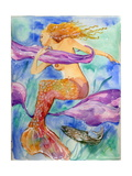 Swimming Mermaid Photographic Print by sylvia pimental