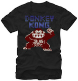Donkey Kong- 8-Bit Fury T-Shirt
