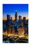 City Light Chicago Photographic Print by Steve Gadomski