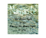 Namaste ll Photographic Print by Michelle Calkins