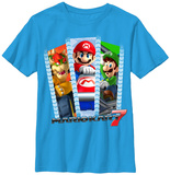 Youth: Mariokart- Three Rollers T-shirts