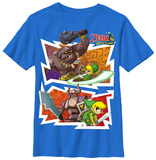 Youth: Legend Of Zelda- Spirit Tracks T-shirts