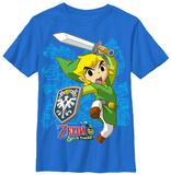 Youth: Legend Of Zelda- Link Up Skjorter