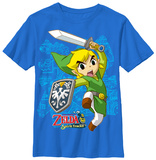 Youth: Legend Of Zelda- Link Up Tシャツ