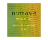 Namaste Photographic Print by Michelle Calkins
