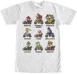 Mariokart- Kart Racers T-Shirts