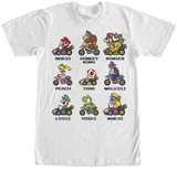 Mariokart- Kart Racers Shirts