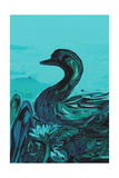 The Lonely Duck Photographic Print by Rabi Khan