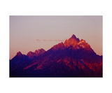 The Grand Teton at sunrise Photographic Print by Ronald A Dahlquist
