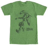 Legend Of Zelda- Primed Link T-shirts