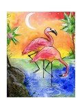 Pink Flamingos Photographic Print by sylvia pimental
