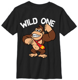 Youth: Donkey Kong- Wild One T-Shirts