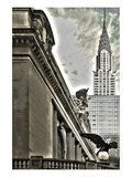 Grand Central Eagle & Chrysler Prints