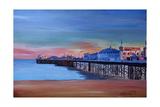 Good Old Brighton Pier East Sussex United Kingdom Giclee Print by Markus Bleichner