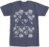 Legend Of Zelda- Floral Triforce T-Shirt