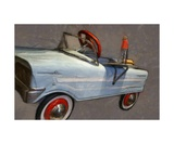 Drive In Pedal Car Photographic Print by Michelle Calkins