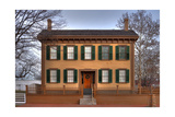 Lincoln Home Springfield Illinois Photographic Print by Steve Gadomski