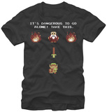 Legend Of Zelda- Be Prepared T-shirts